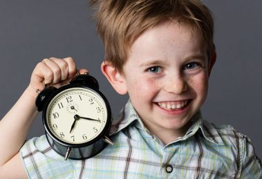 Le rétro-planning de l'enfant