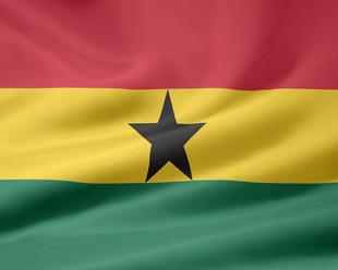 Ghanaische Flagge