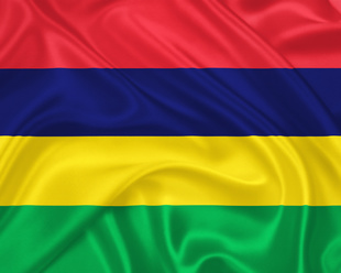 Flag of   the Mauritius