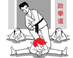 Le Taekwondo, par Petit Roux en Chine