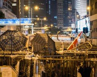 HongKongRevolutionParapluieBarricade