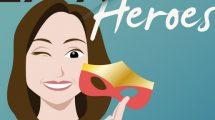 Cristina, derrière les masques de Expat Heroes, le podcast des expats