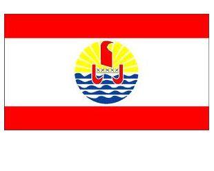 DRAPEAU TAHITIEN