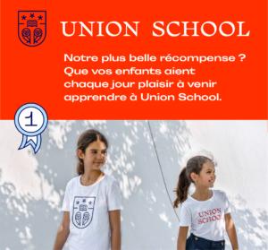 Pour son parcours éducatif bilingue Union School propose une pédagogie holistique de pointe