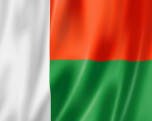 Madagascar drapeau