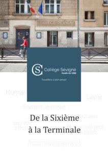 Collège Sévigné : tout savoir sur l'établissement et ses programmes