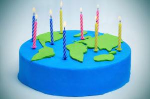 Les anniversaires autour du monde