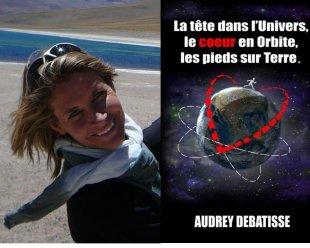 Audrey Debatisse, expatriée et auteure