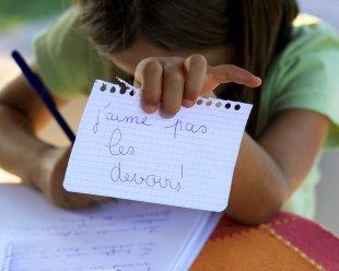 apprendre le français à ses enfants