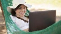 Expatriation, boulot nomade et vacances : Mon bureau est dans mon sac!