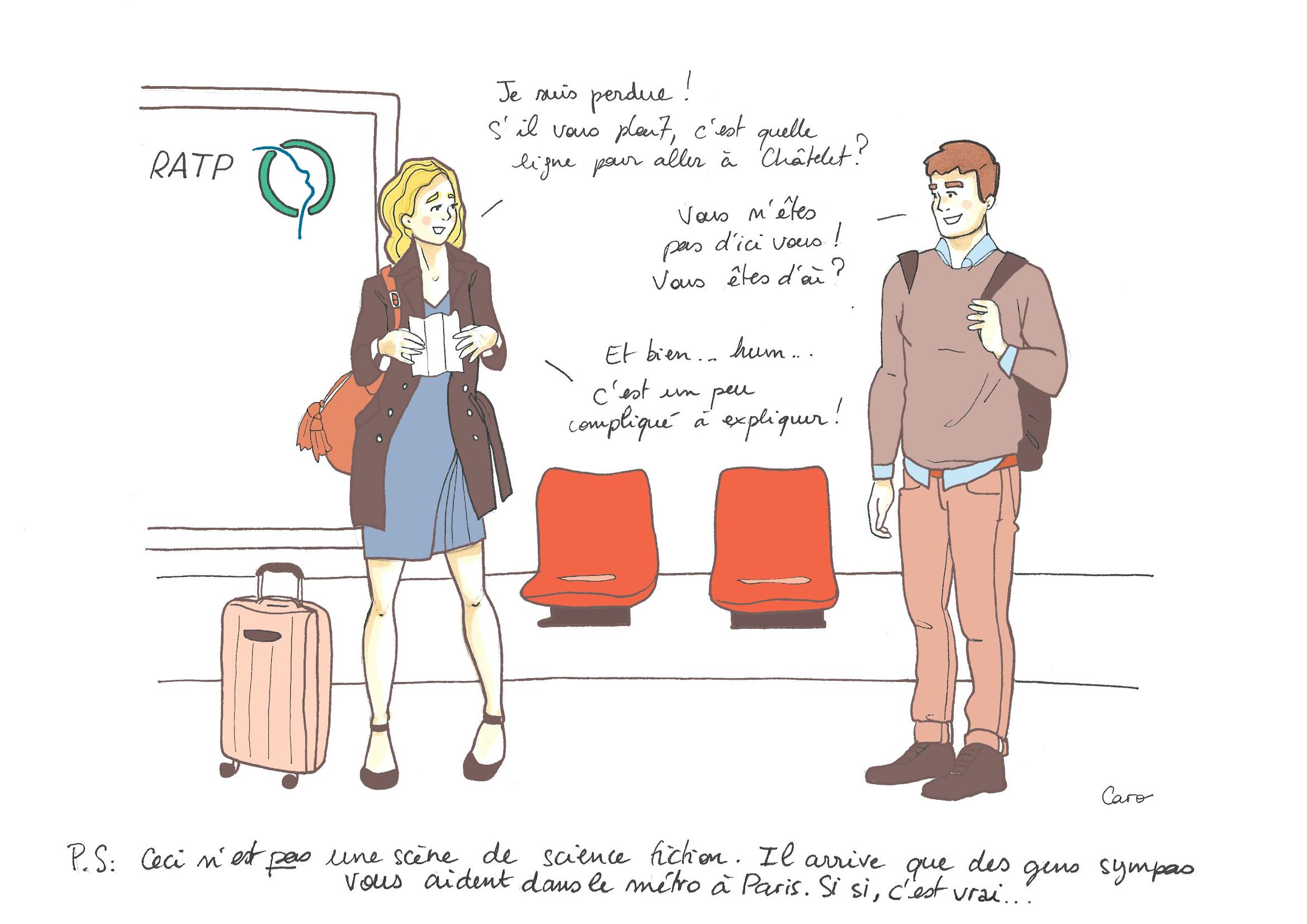 Retour d'expatriation : épisode 5 : explorations parisiennes