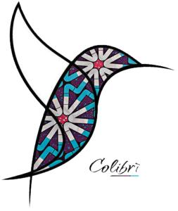 Logo Colibrì blanc