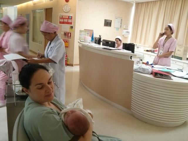 Une maternité en Asie plutôt rock 'n roll !