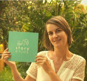 Constance, créatrice de Story Enjoy