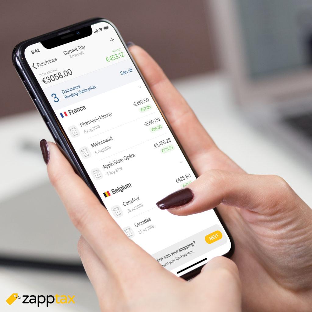 zapptax Application mobile