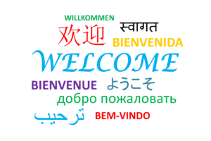 Welcome languages EF