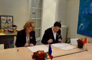 Le renouvellement de partenariat avec la prestigieuse école de Shijia à Beijing