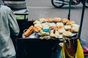 Vivre à Hanoi, nourriture de rue