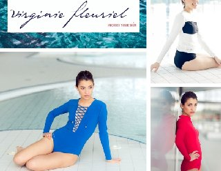 virginie fleuriel maillots anti UV