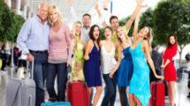Les visiteurs de l'expat en vacances