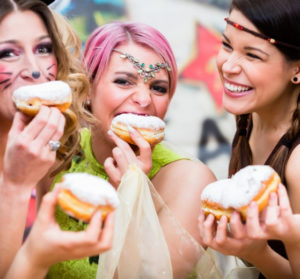 Fiesta voila le mardi gras