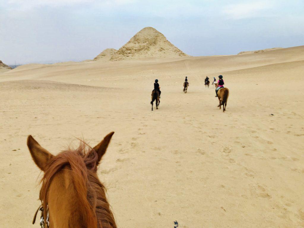 Balade à cheval désert