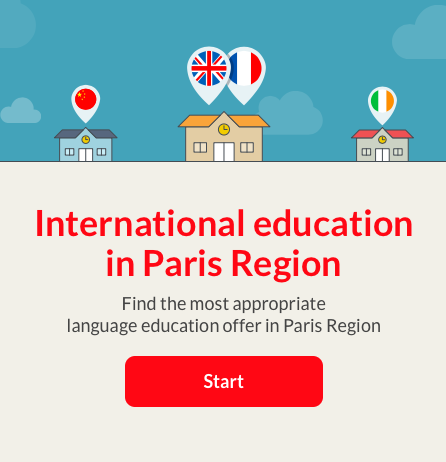 plateforme international education in Paris Region