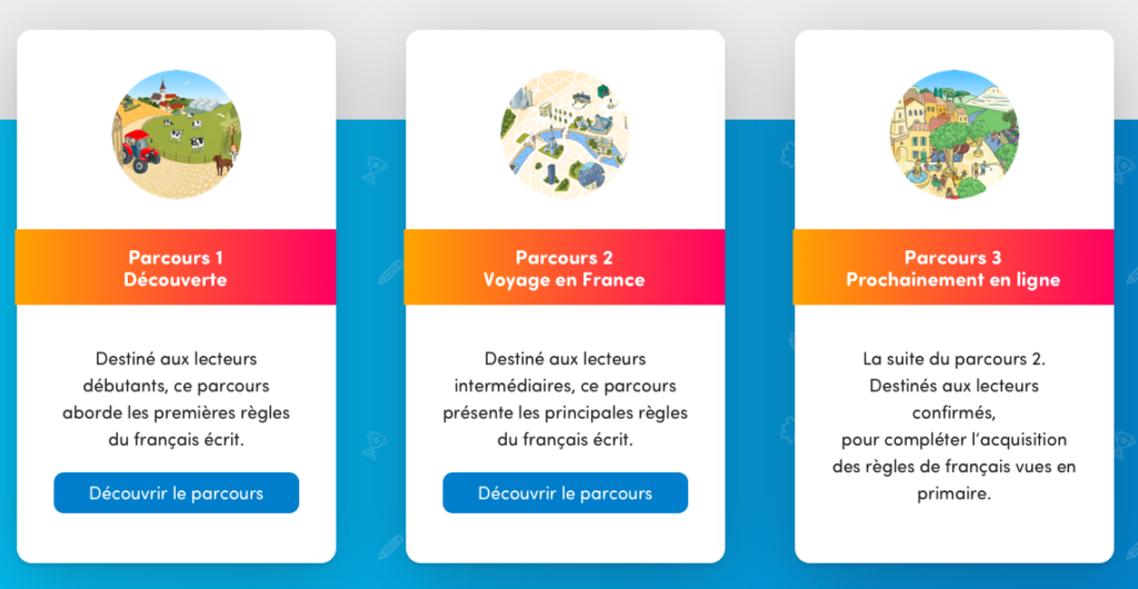 3 parcours de Savio.fr