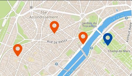 plan des école de ISP à PARIS