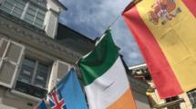 ISP école avec les drapeaux du monde