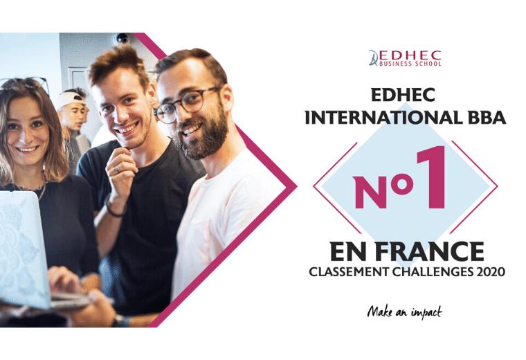 bachelor n°1 edhec challenges 2020
