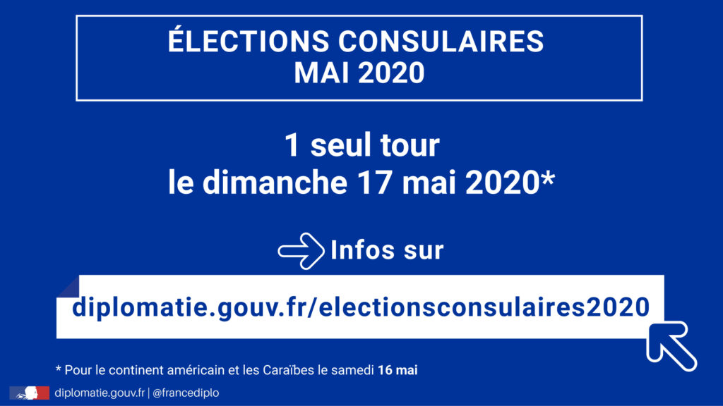 Elections consulaires-mai 2020