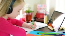 enseignement à distance enfants