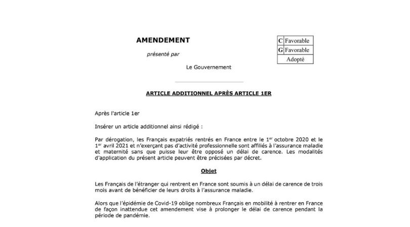 Amendement-delai-carence-secu-octobre2020