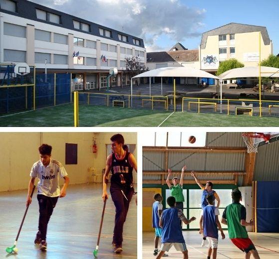 Installation de sport Internat Saint Denis