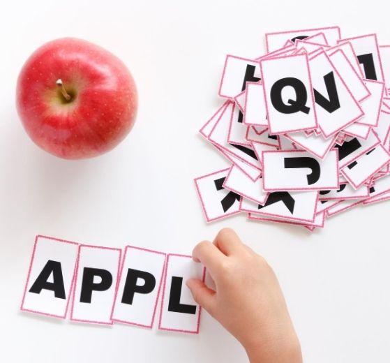 jeu lettres en anglais