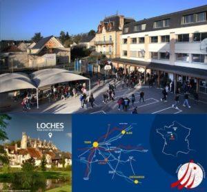 localisation de Interantional School Saint Denis