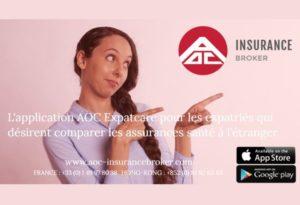AOC Insurance appli comparateur assurance