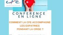 Conférence en ligne CFE les expatriés pendant la crise