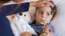 La fièvre de l'enfant