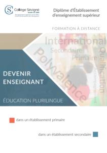 La formation à distance pour devenir enseignant en milieu plurilingue