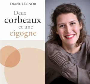 Deux corbeaux et une cigogne - livre Diane