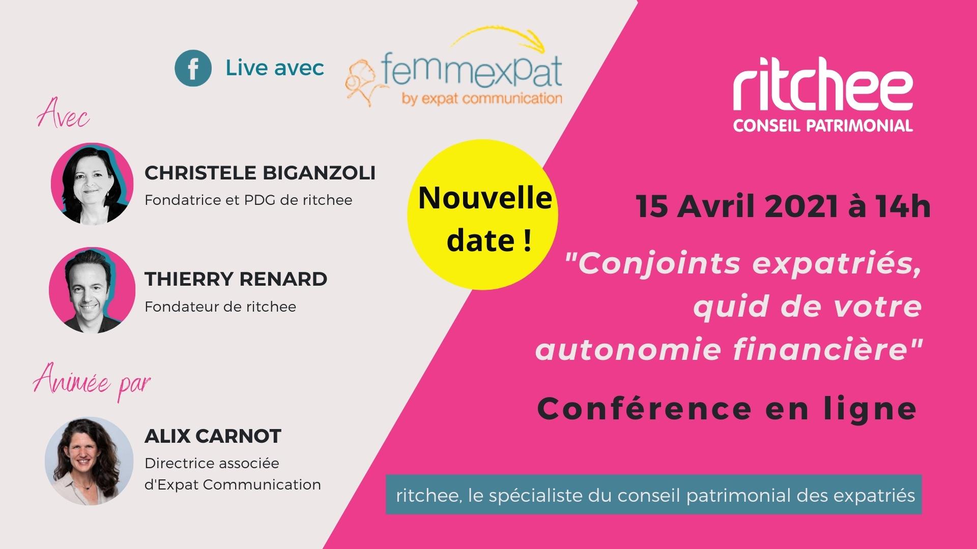 Visuel Annonce Ritchee Conférence en ligne