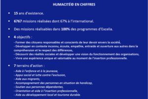 'humacité made in Excelia : la RSE à la portée des étudiants !